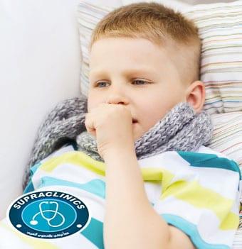 علاج البرد للاطفال في المنزل