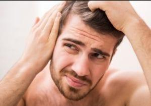 ايقاف تساقط الشعر للرجال