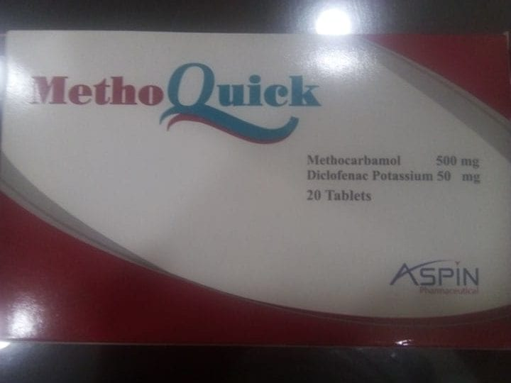 methoquick tablets