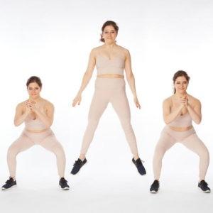 تمرين Lateral Plyo Squats