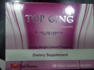 top ging capsules