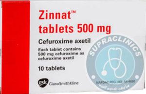 دواء زينات أقراص وشراب مضاد حيوي