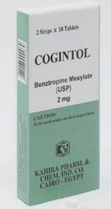 دواء كوجينتول لعلاج الشلل الرعاش