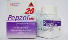 دواء بيبزول كبسولات لعلاج الحموضة وقرحة المعدة